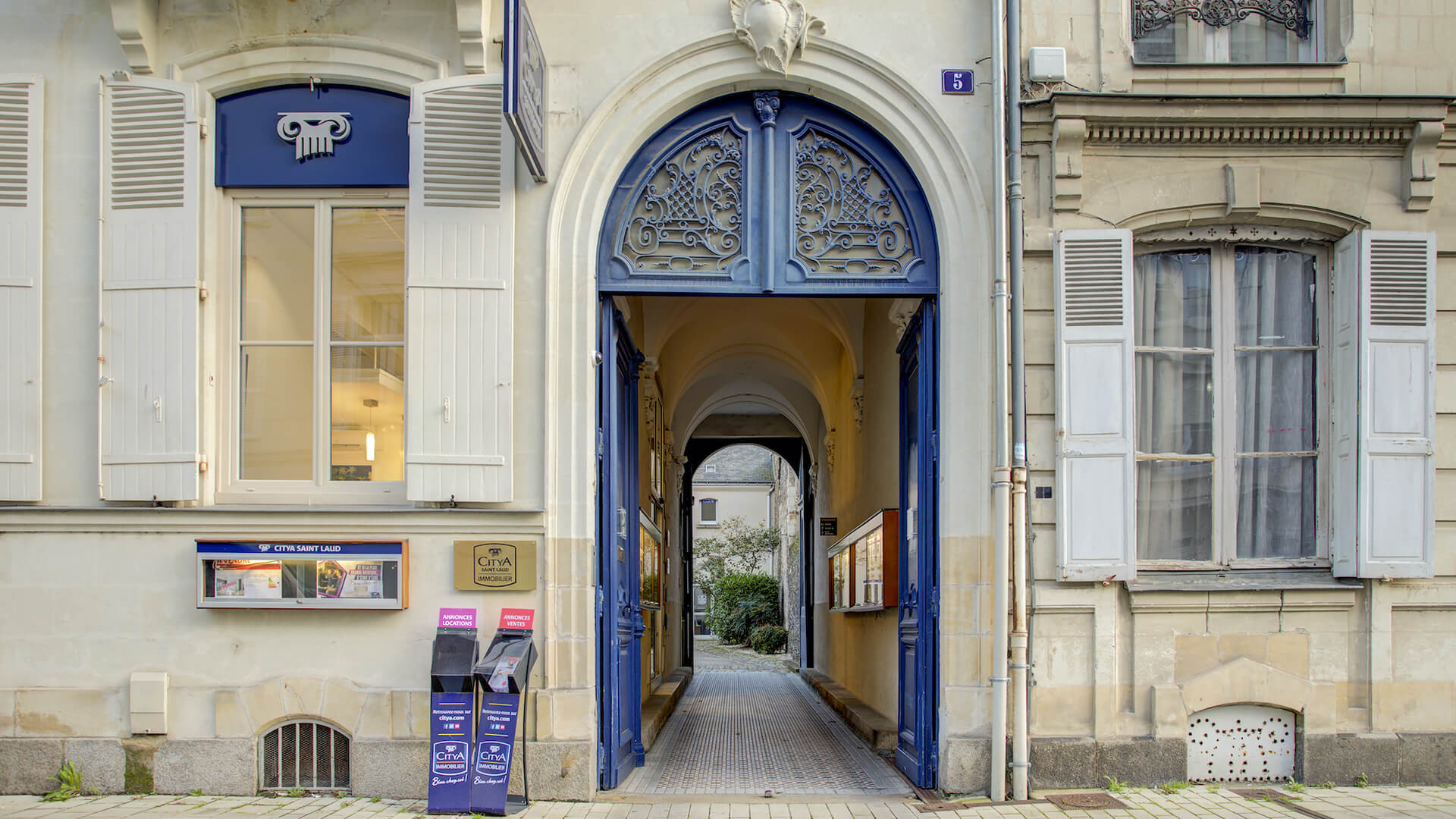 Agence immo Citya Saint Laud