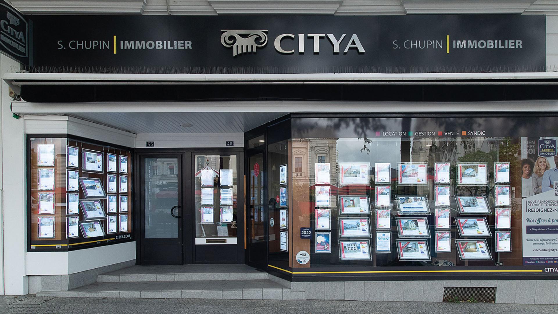 Agence immo Citya Immobilier S. Chupin