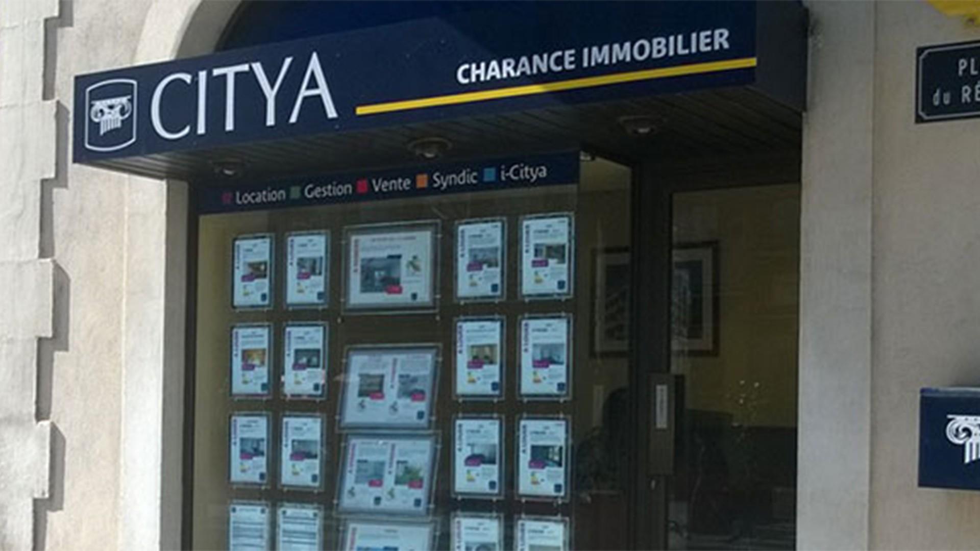 Agence immo Citya Charance