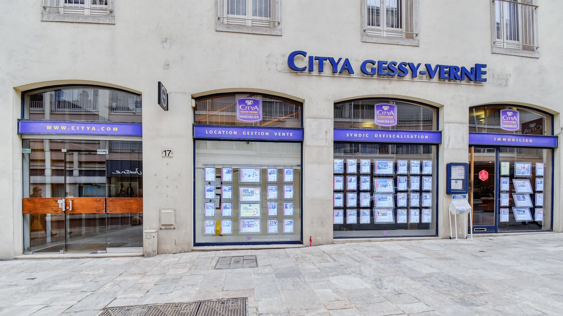 Agence immo Citya Gessy Verne Immobilier