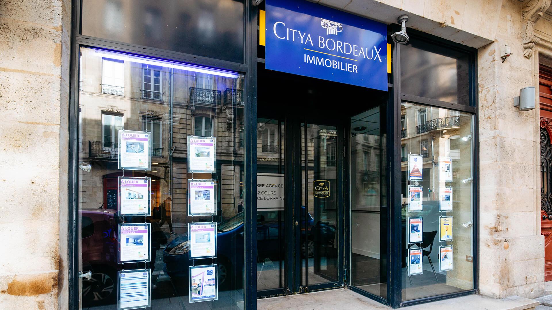 Agence immo Citya Bordeaux