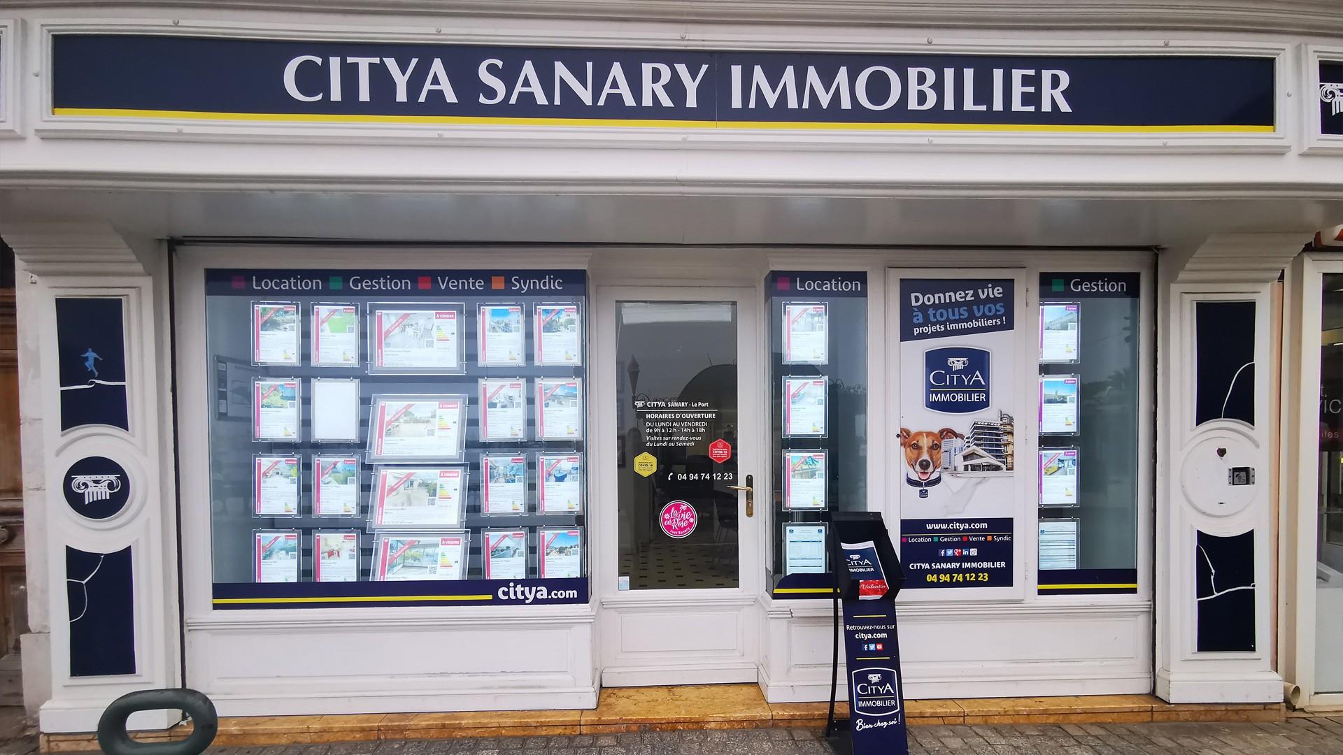 Agence immo Citya Sanary