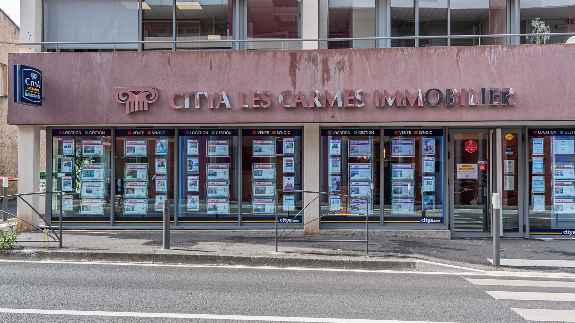 Agence immo Citya Les Carmes