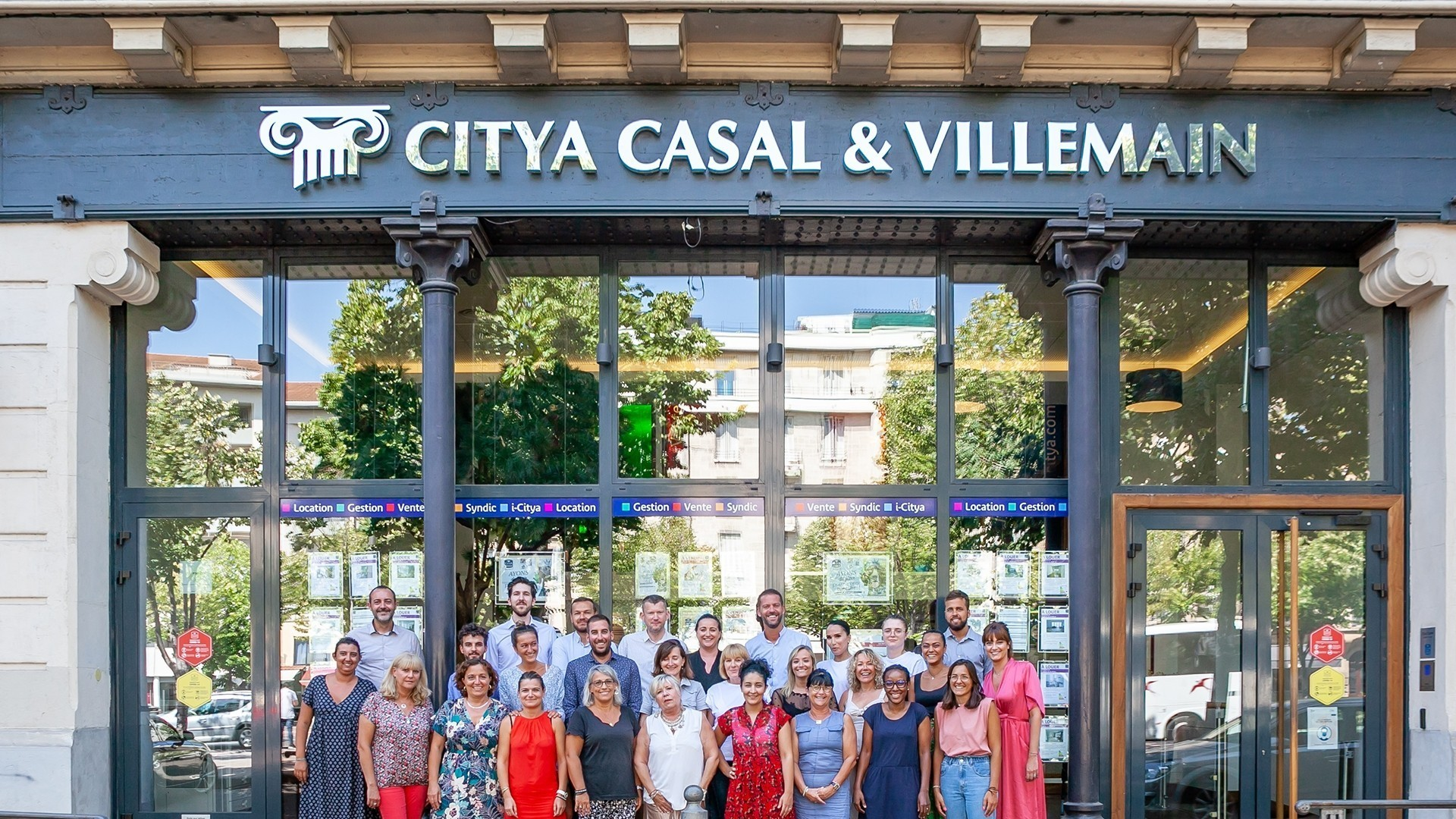 Agence immo Citya Casal et Villemain Immobilier