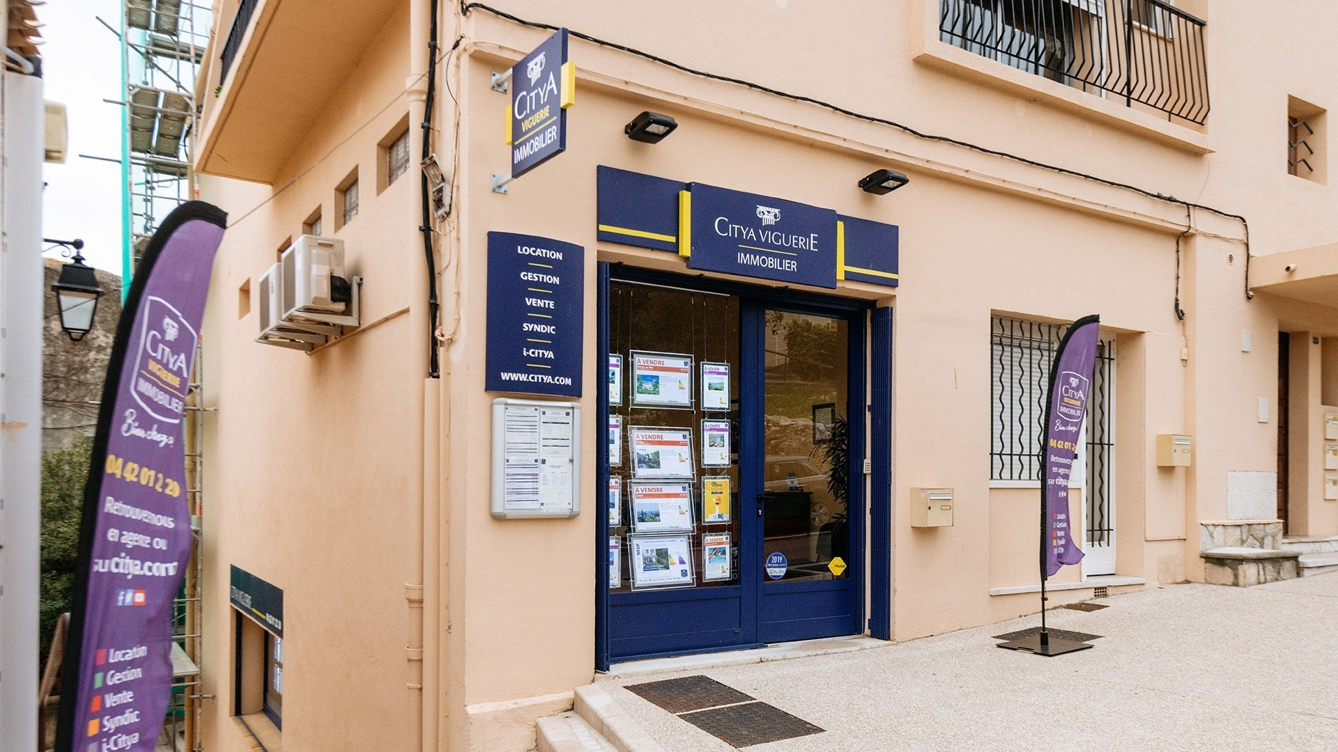 Agence immo Citya Cassis Viguerie