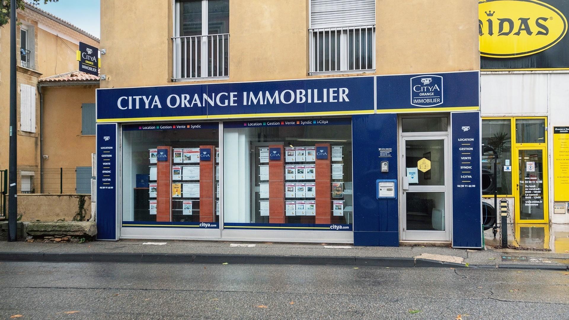 Agence immo Citya Orange