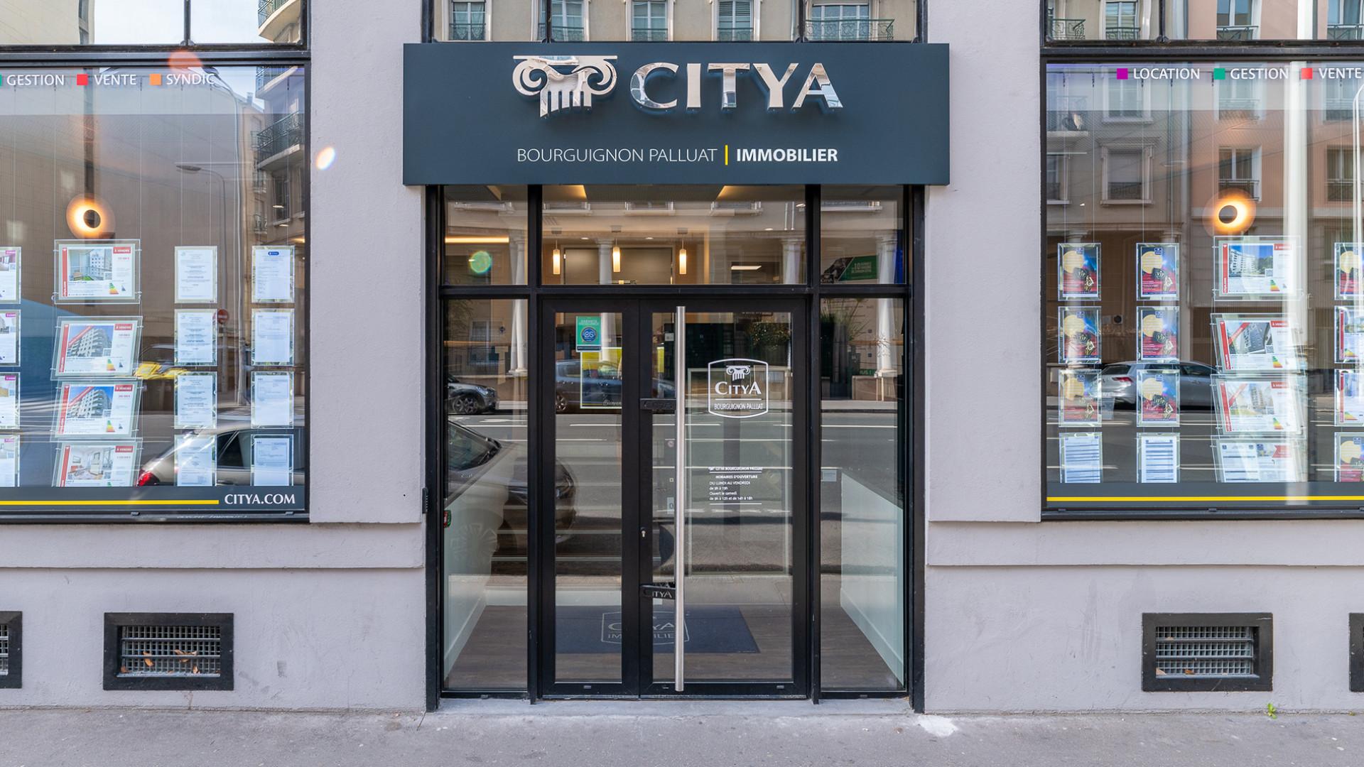 Agence immo Citya Bourguignon Palluat
