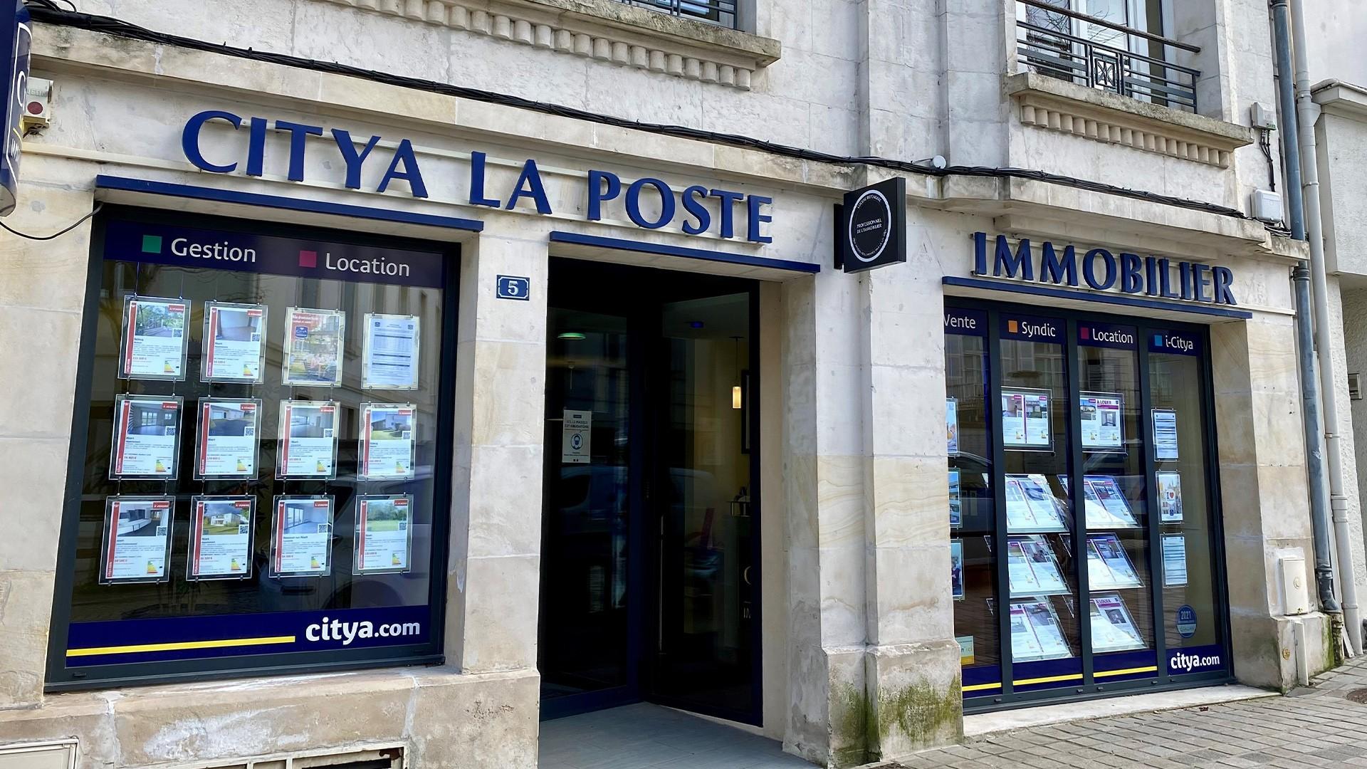 Agence immo Citya Immobilier La Poste