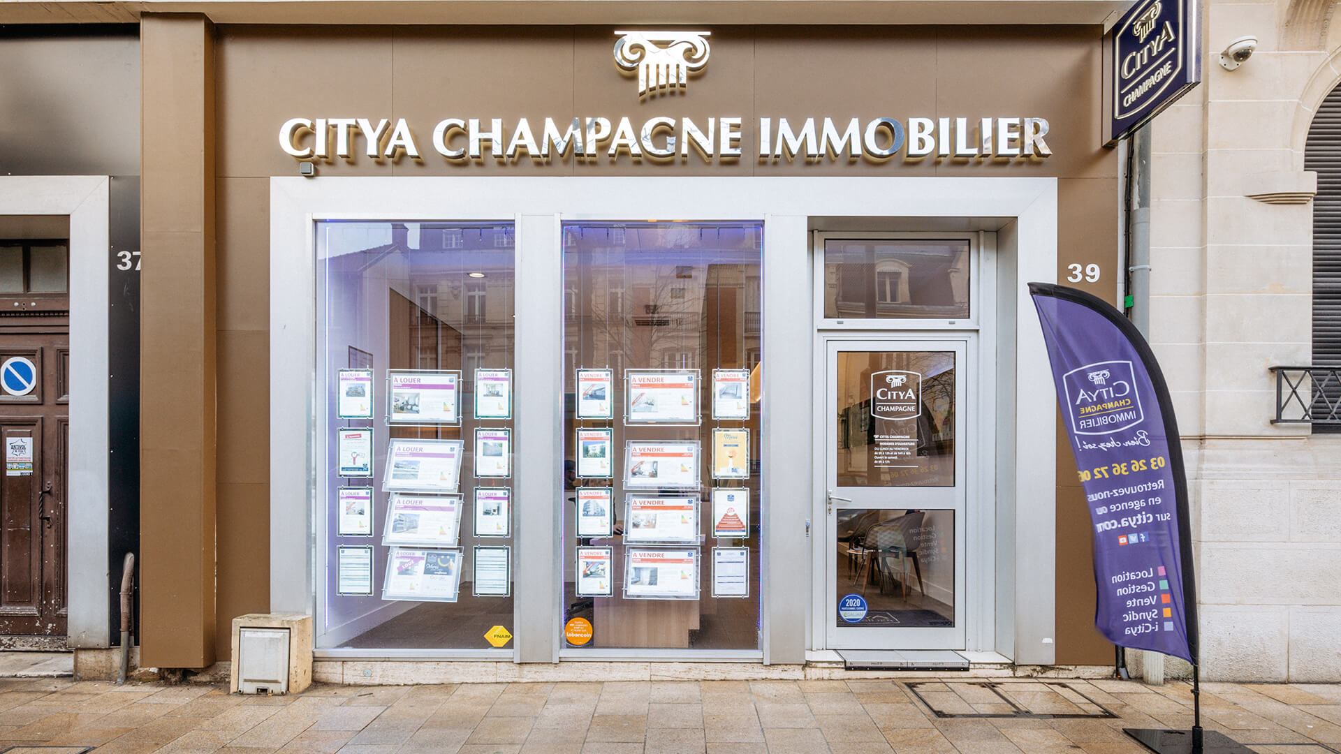 Agence immo Citya Champagne