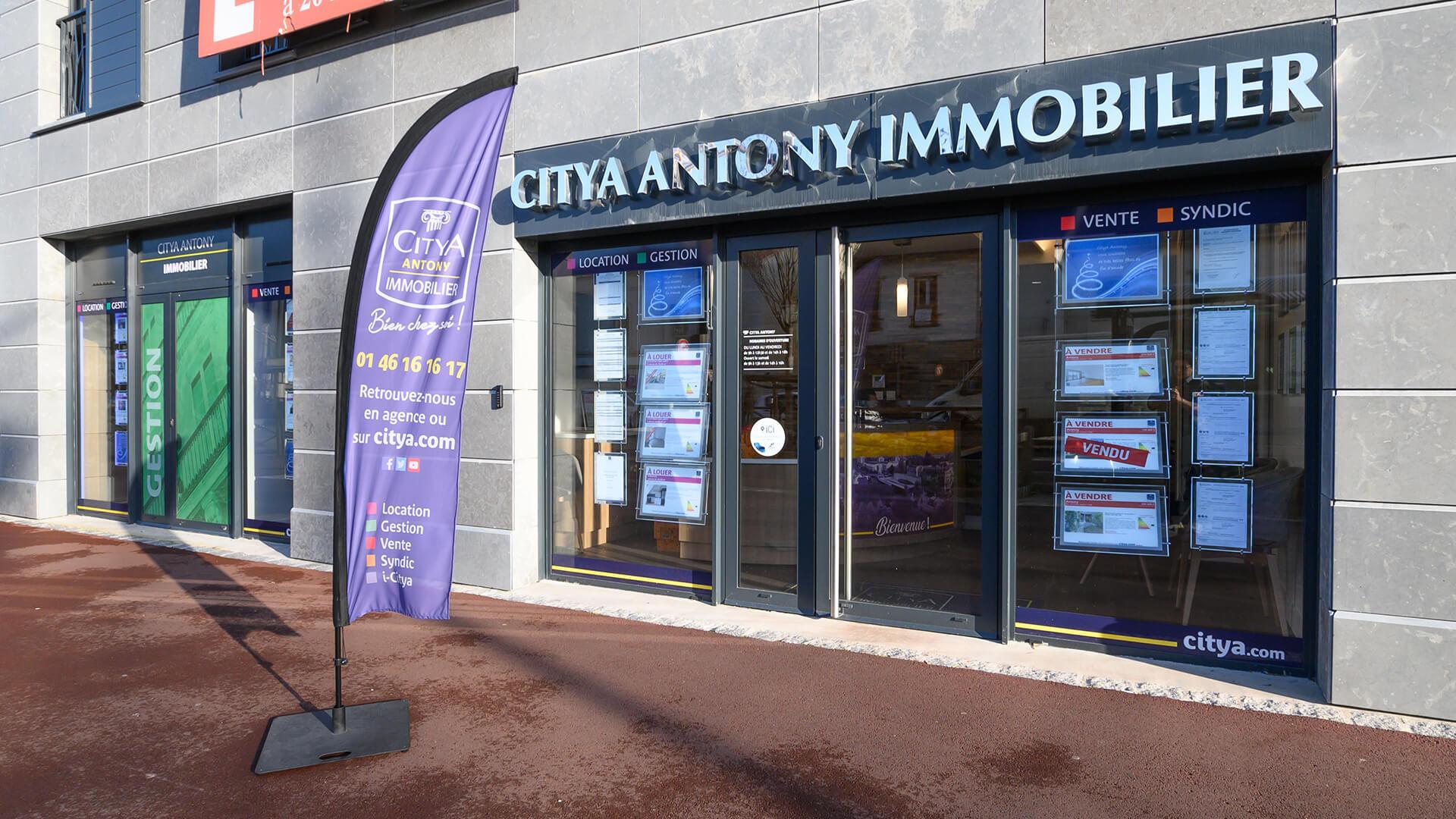 Agence immo Citya Antony immobilier