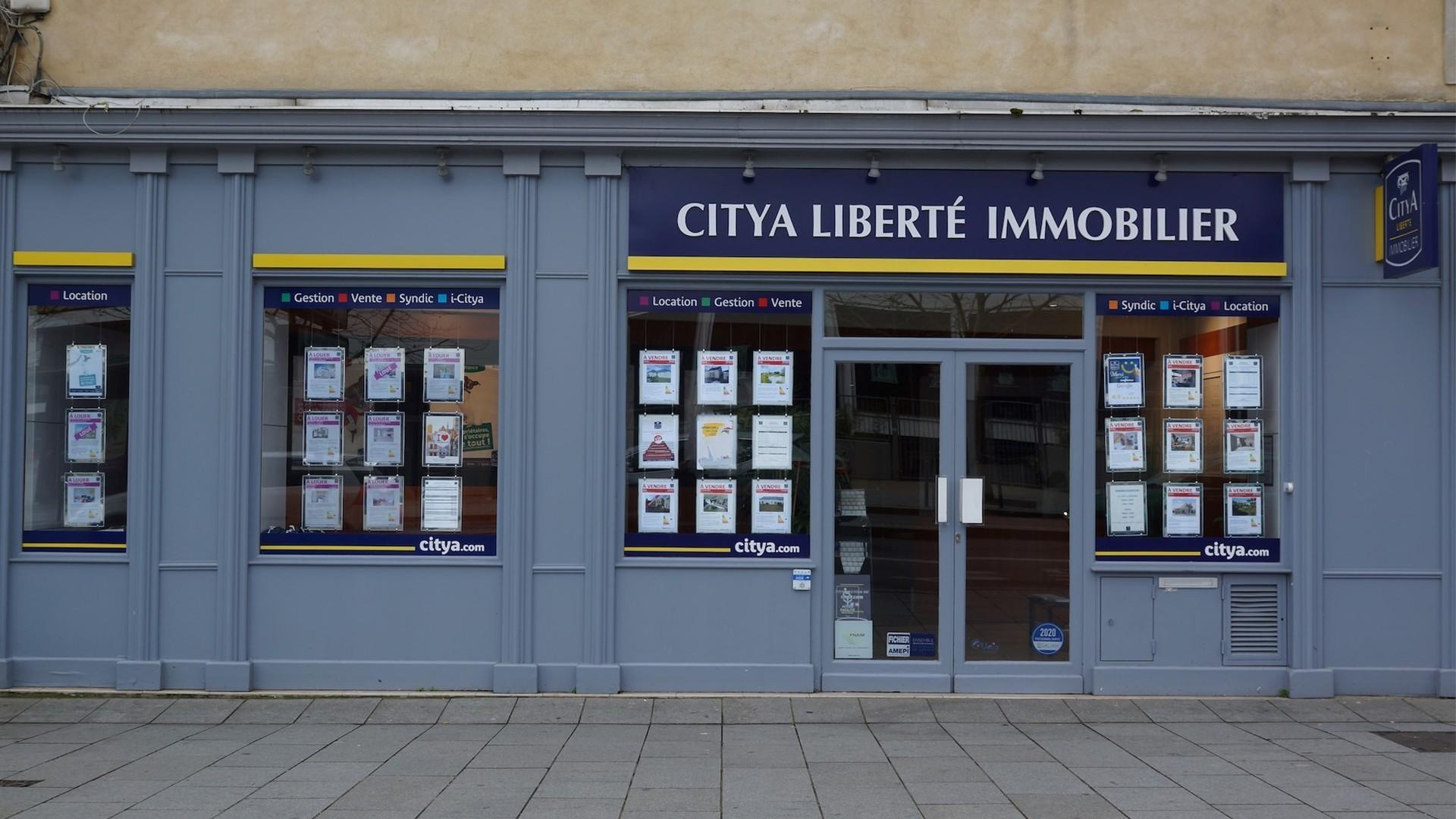 Agence immo Citya Liberté
