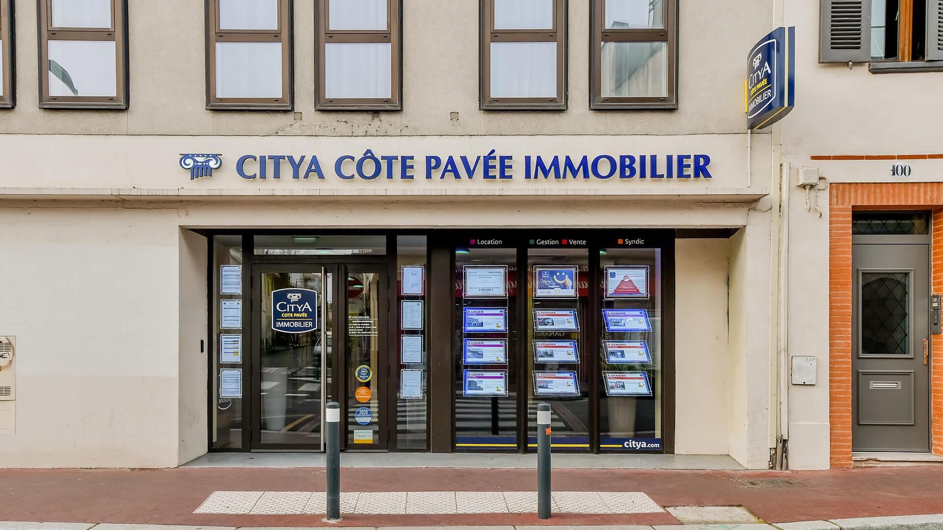 Agence immo Citya Côte Pavée